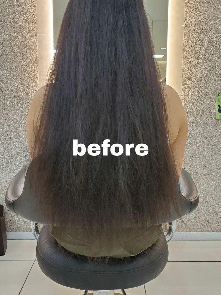 髪質改善で作るサラサラロングヘア-