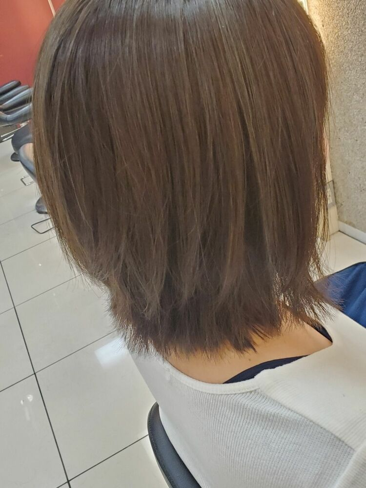 伸ばし中の髪はカラーでイメチェン!3Dカラーで産休中にしか出来ないデザインカラーでしませんか??