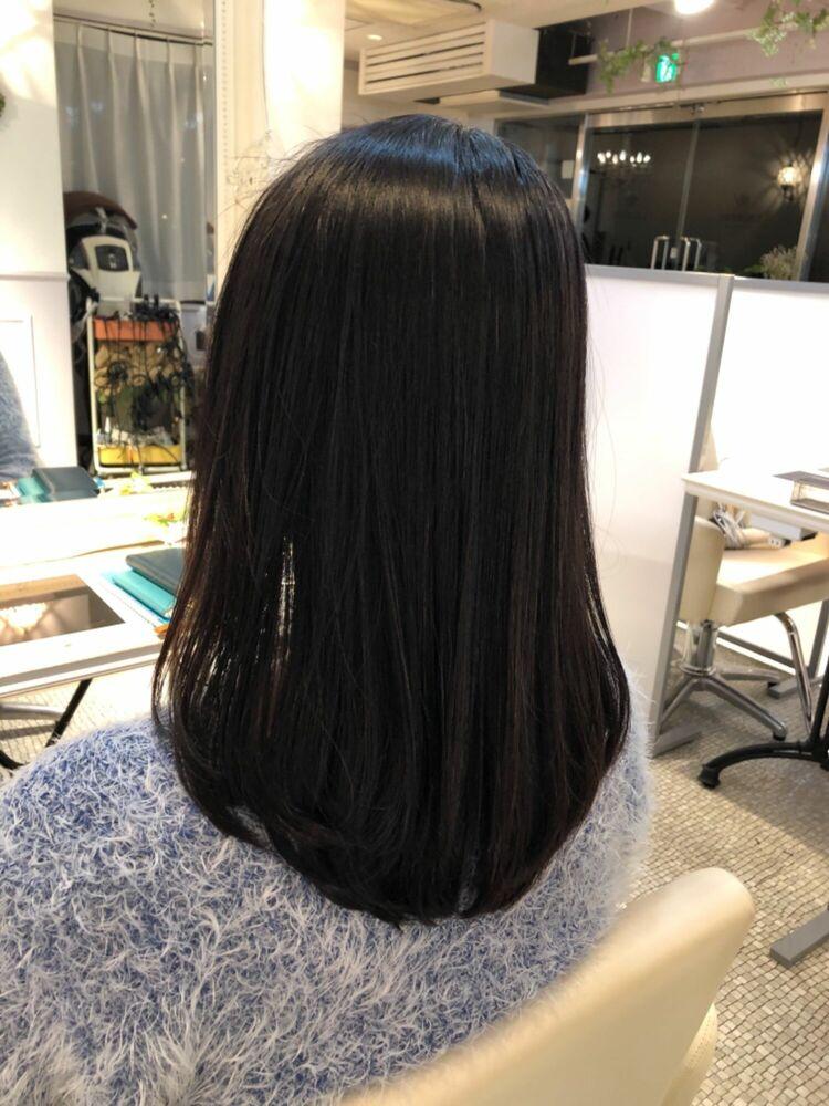 癖毛で悩みがある方必見❗️Laurentストレートで「扱いやすい」髪質へ。