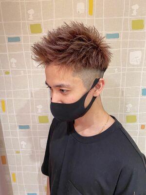 MEN'S HAIR フェード×ジェットモヒカン