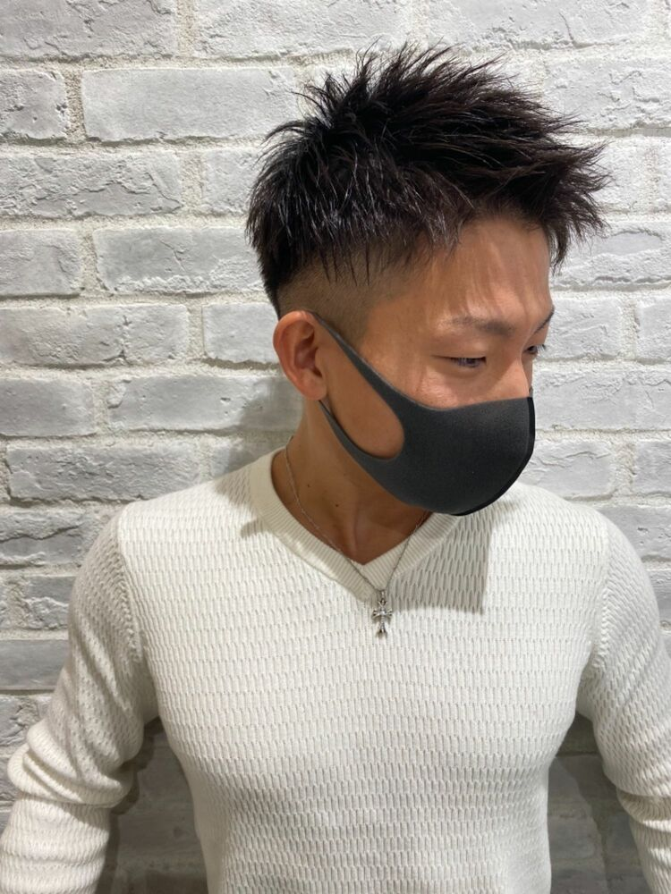 MEN'S HAIR ソフトツイスト×刈り上げツーブロック