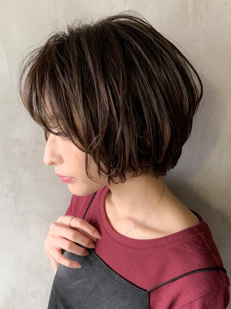 大人かわいい ナチュラル 前下がりボブ★髪が多い方もお勧め★SAKURA原宿 店長村上ゆうすけ