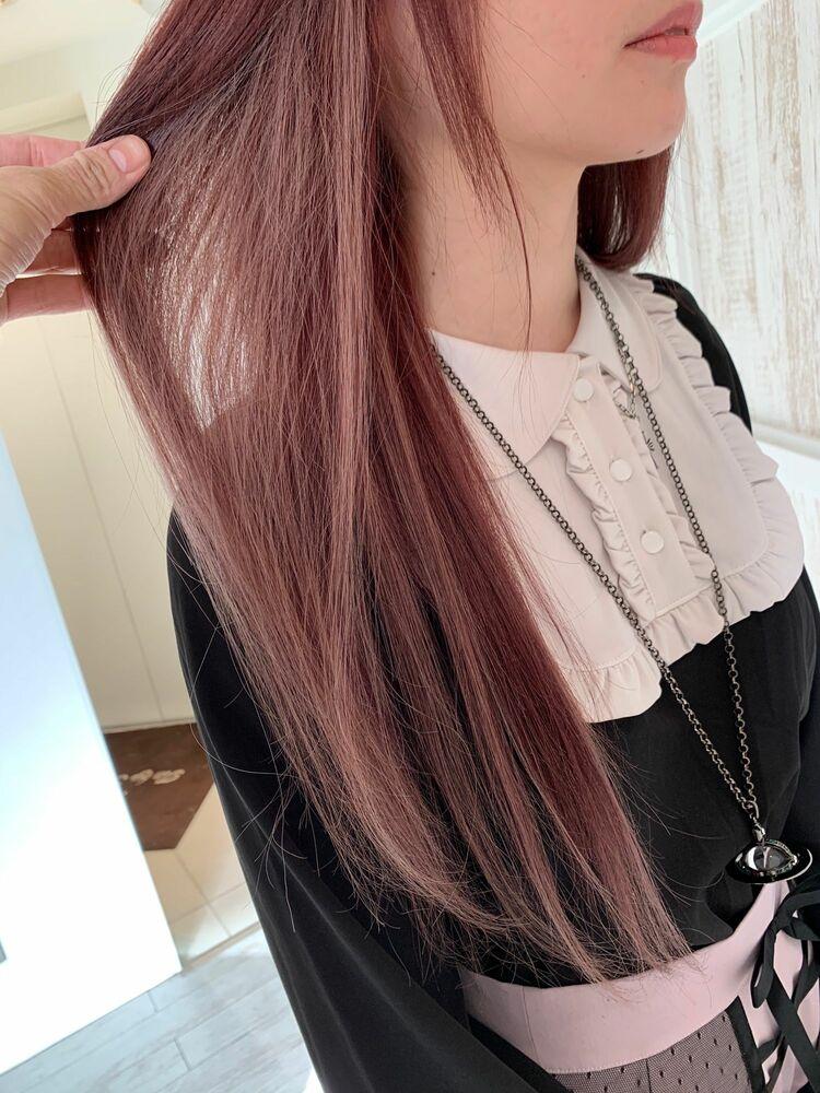 ☆ピンクパープル×シールエクステ☆