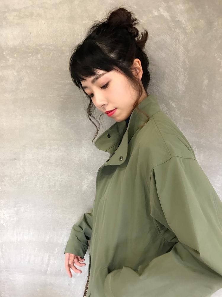 ☆arrange☆高めおだんごスタイル