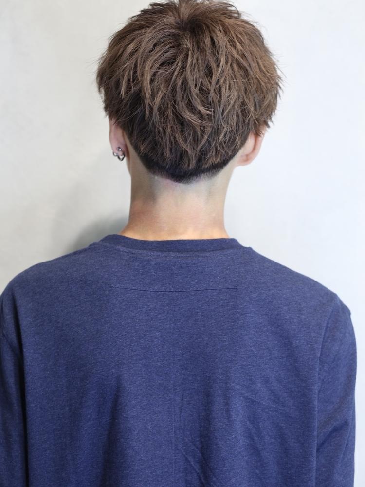 くっきり質感、男のカッコいい髪型