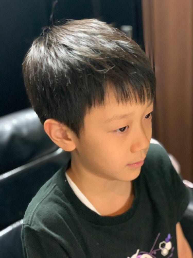 少年。7歳カット