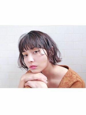 《throw 柴田》大人ヘルシーなヌーディボブ☆