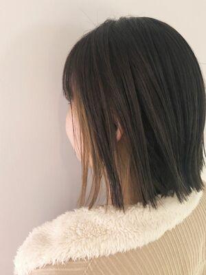 vanilla beige☆インナーカラー