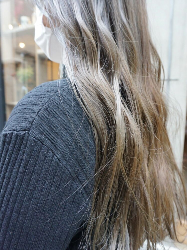 ロングヘア透明感 color