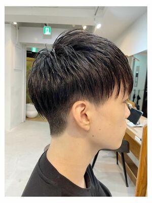 メンズヘアカタログ メンズカット メンズヘア 清潔感、清涼感ある髪型 学割有り