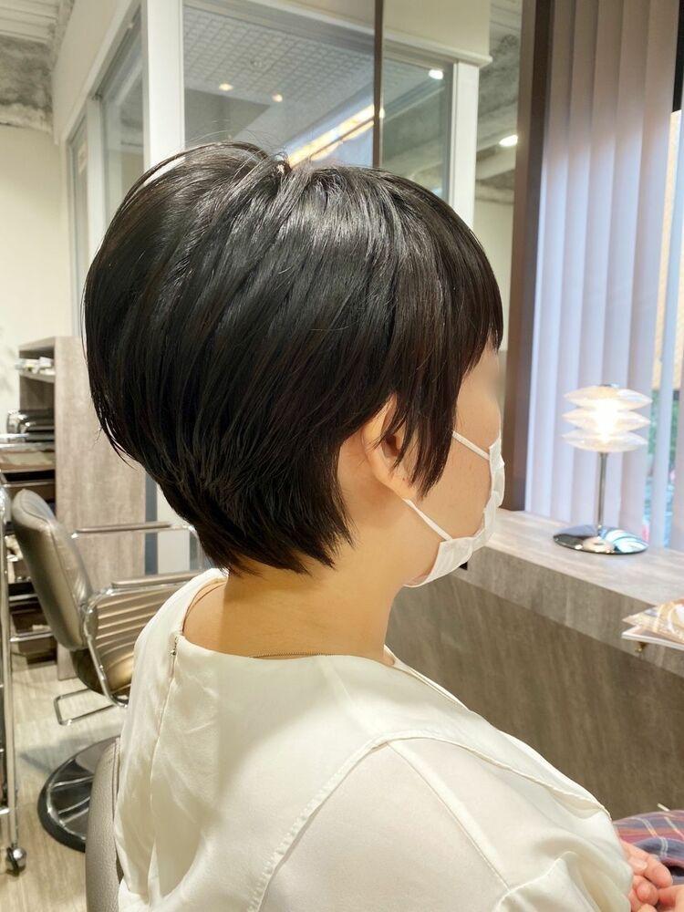 黒髪でもおしゃれ☆ショートスタイル