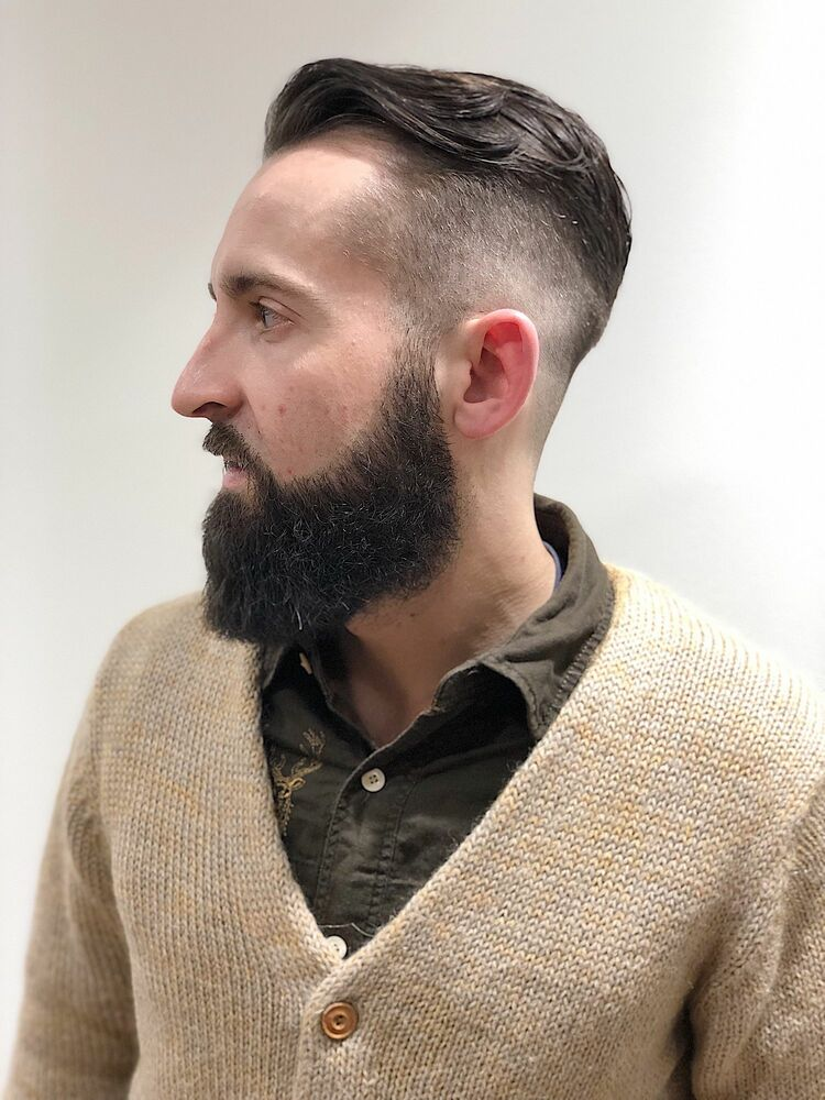 traditional barber style