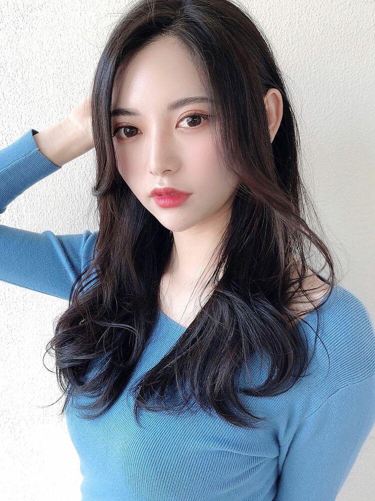 [アフロート]抜群の風格感じる前髪長め美人セミロング☆