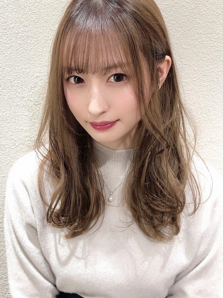 [アフロート]抜け感あるゆるふわセミロングスタイル☆