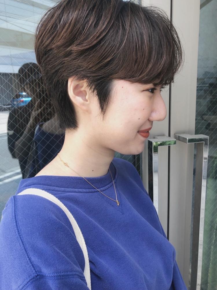 『assort tokyo』ハンサムショートニュアンスパーマ 表参道駅徒歩15分外苑前駅徒歩3分