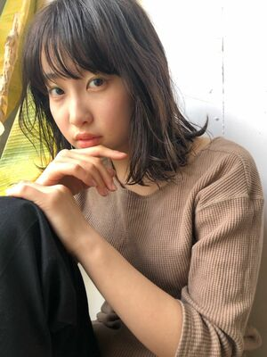 『assort tokyo 』パーマで作る春の抜け感ヘアー表参道/原宿