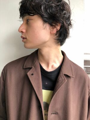 『assort tokyo 』ニュアンスパーマ 無造作ヘアー 表参道駅徒歩15分外苑前徒歩3分