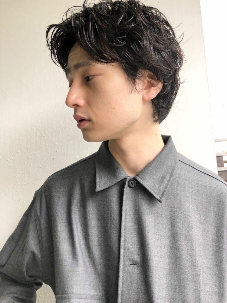 『assort tokyo 』ニュアンスパーマで作る冬のこなれマッシュ 表参道駅15分外苑前徒歩3分