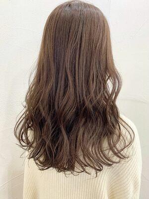 イルミナカラー ピンクブラウン 髪質改善