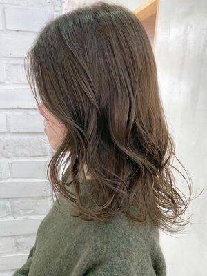 イルミナカラー オリーブベージュ 髪質改善
