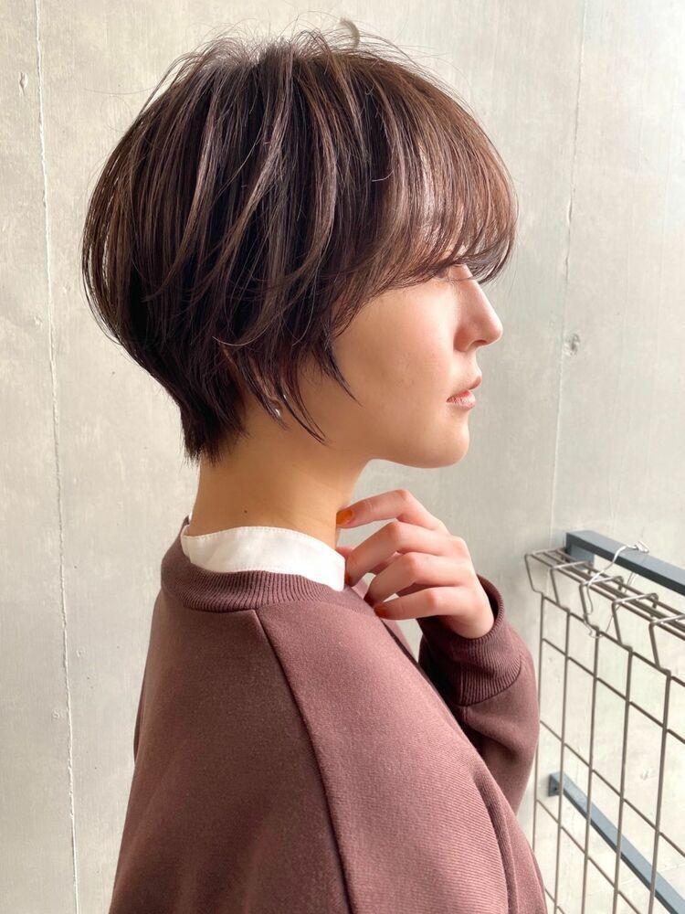 インスタ @suguru_sugawara 大人可愛いまとまる小顔ショートヘアー