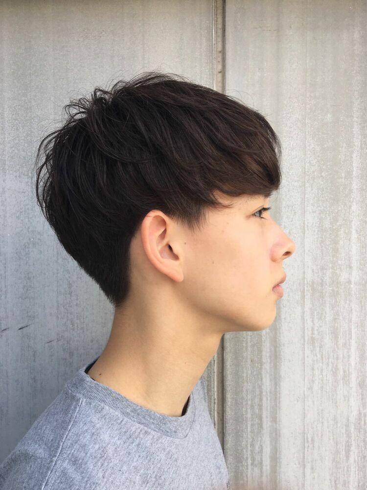 インスタ @suguru_sugawara ナチュラルソフトツーブロマッシュ