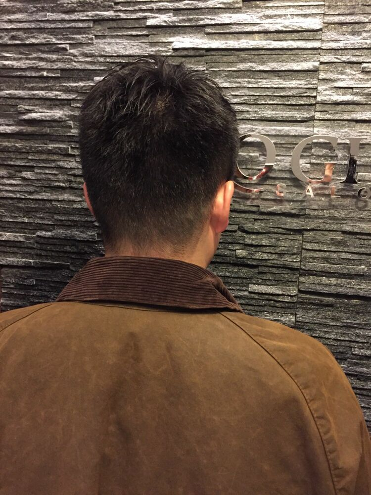 王道刈り上げベリーショートスタイルヒロ銀座/理容室/六本木