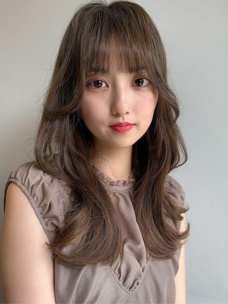 韓国風 くびれヘア