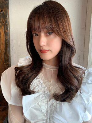 韓国風 ロングヘア