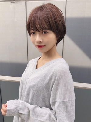 大人かわいい似合わせカットショートボブ表参道「井谷幸政」20代30代40代