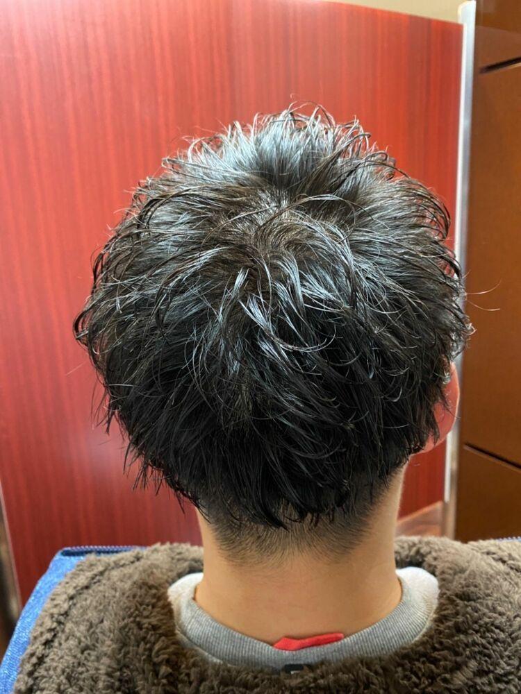 ツイストスパイラルビジネスショート/新橋/日比谷/内幸町/虎ノ門/理容室