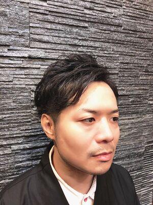 トランクス風束感ショート/ヒロ銀座/池袋/理容室