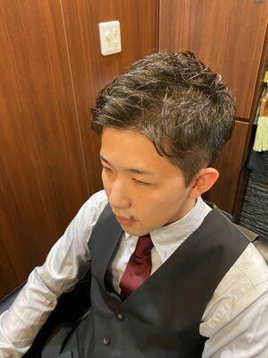 プロポーズ成功ショートスタイル/ヒロ銀座/池袋/理容室
