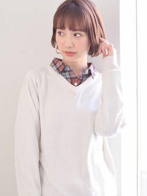駅から直結徒歩5分の美容室joemi by unami 今旬大人気のミニボブ