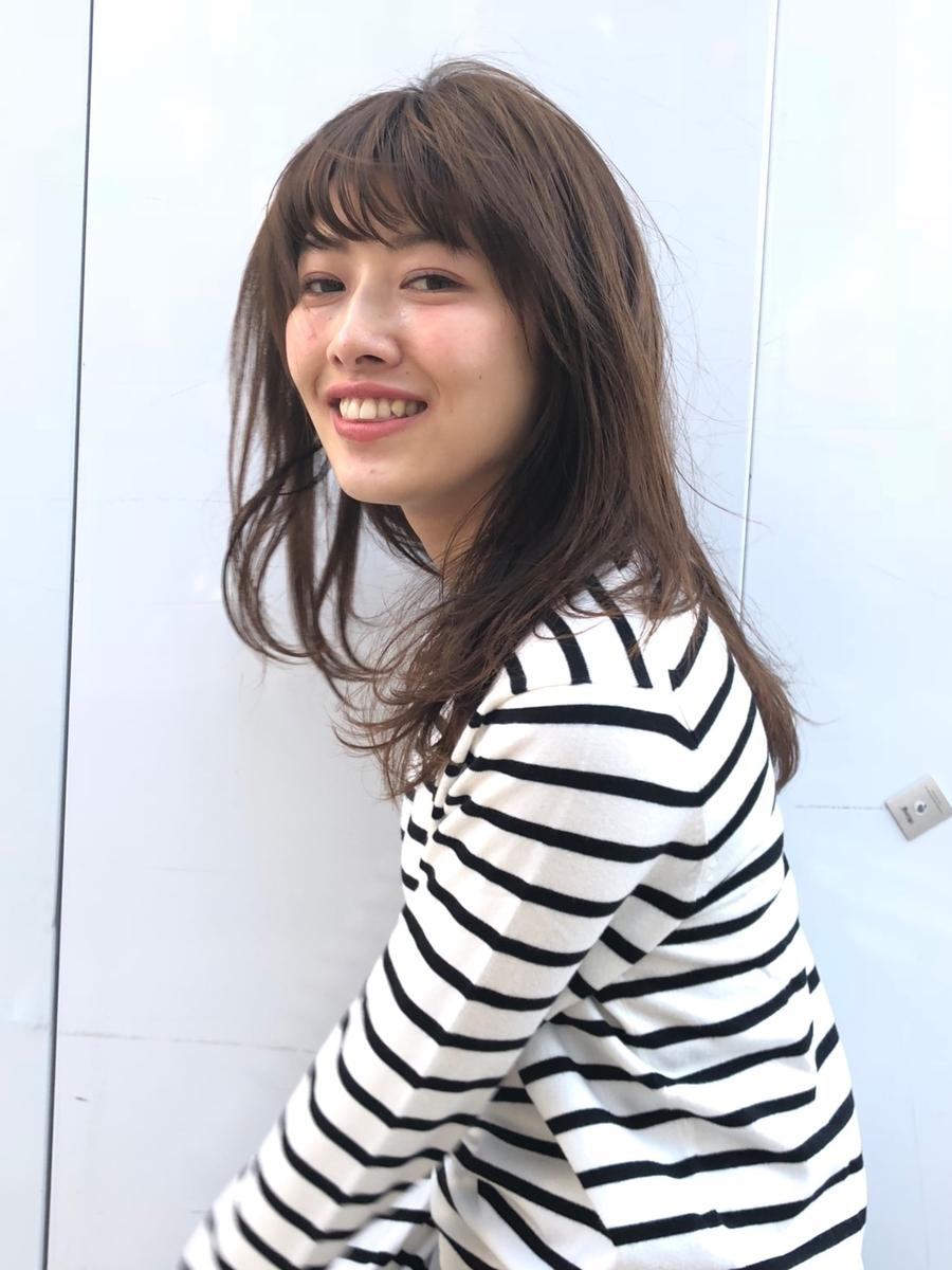 駅から直結徒歩5分の美容室joemi by unami ゆるくワンカールまくだけ!今風ゆるミディ