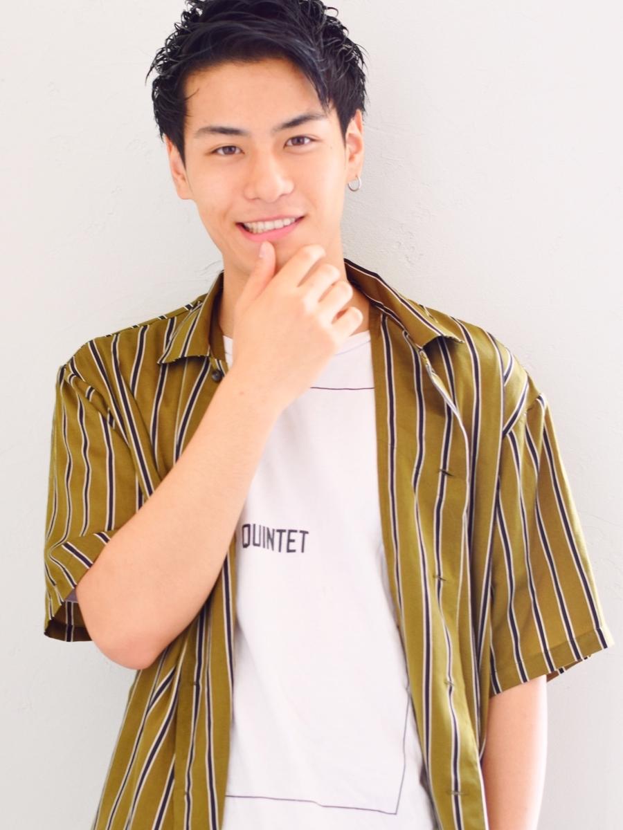 駅から直結徒歩5分の美容室joemi by unami 男をあげる爽やかアップバングショートヘア