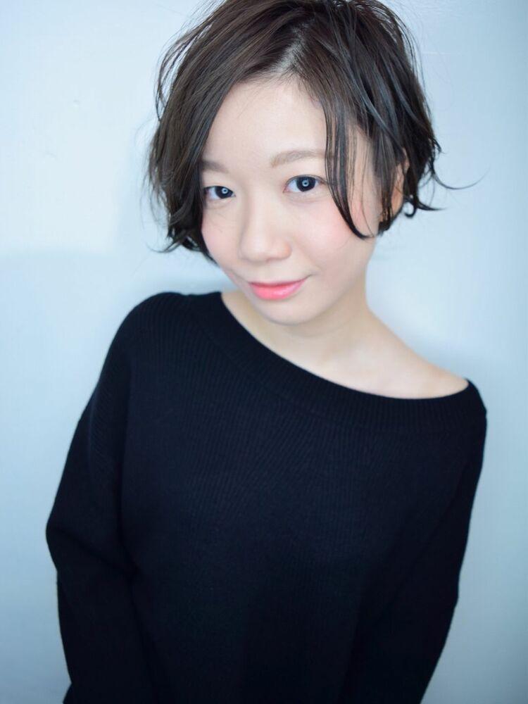 morio池袋 川島佑一 2020年春夏人気大人かわいい長め前髪前下がり小顔ショート