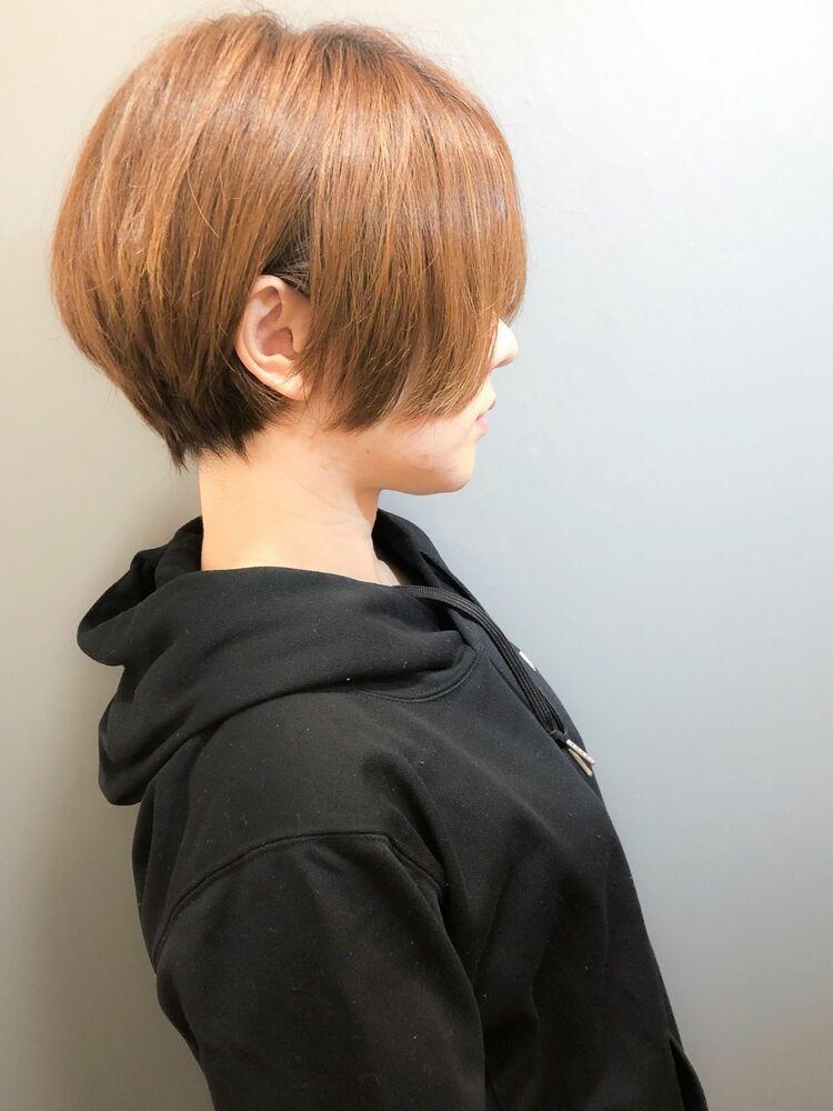 morio池袋 川島佑一 2020年春夏人気大人かわいい長め前髪小顔マッシュショート