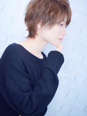 morio池袋 川島佑一 2020年春夏人気大人かわいいウルフ小顔ショート