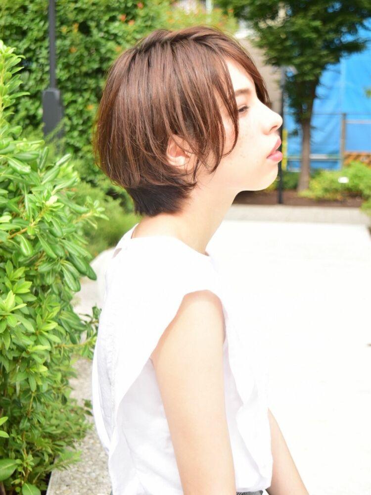 morio池袋 川島佑一 2020年春夏人気大人かわいい前下がり小顔ショート