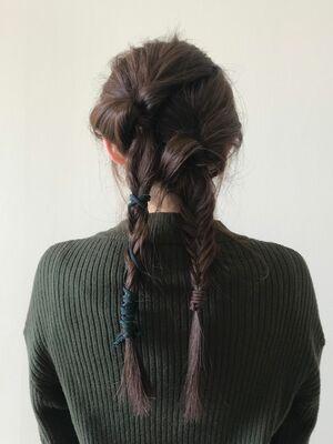 フィッシュボーンと紐髪質改善 酸熱トリートメントで毎日を楽に