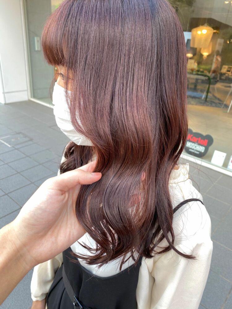 秋のトレンドカラーピンクブラウン♡