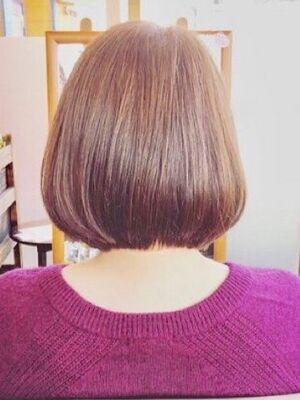 似合わせ艶髪ショートボブ