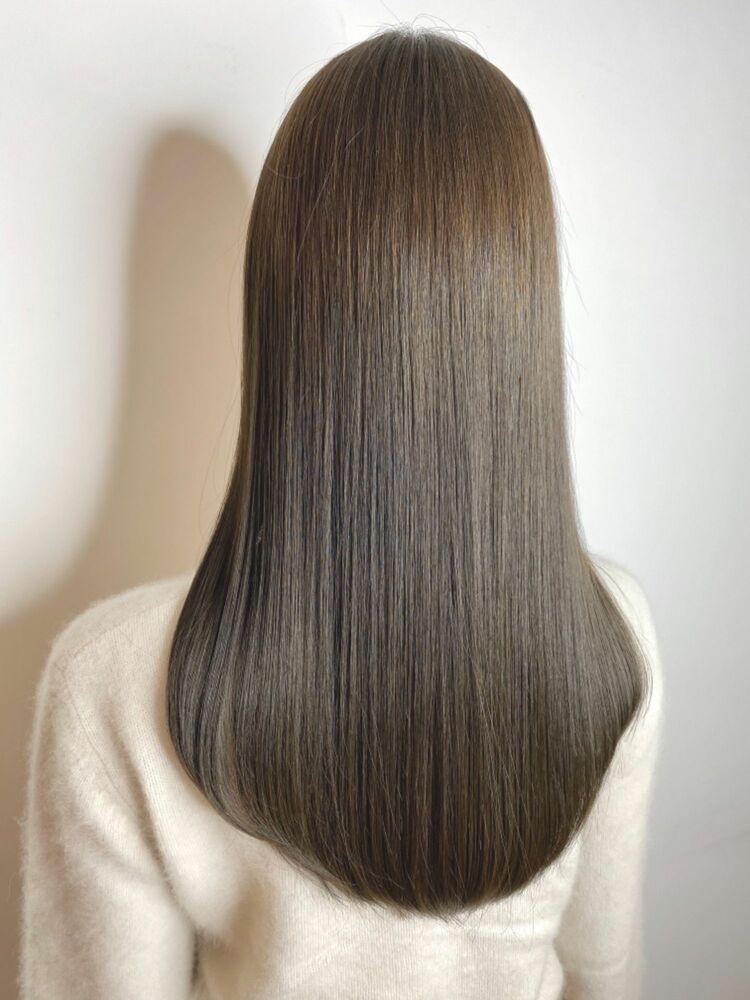 髪質改善×シアグレージュラテ☆Zina CENTRAL石井