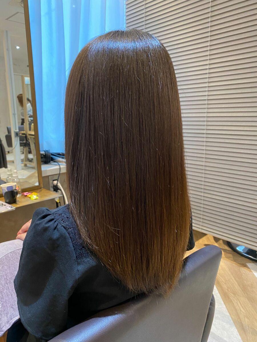 話題の髪質改善サイエンスアクア☆Zina CENTRAL石井