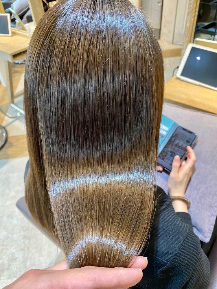 話題の髪質改善!美髪チャージ☆Zina CENTRAL石井
