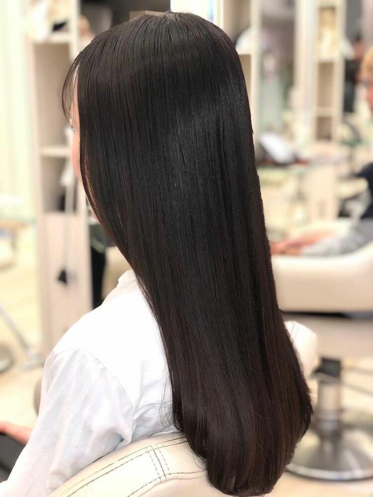 美髪!ストレート!🌿