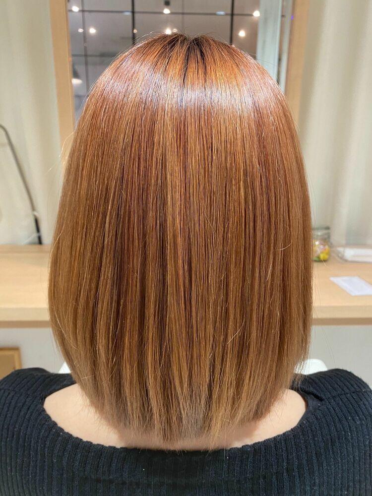 (四条烏丸)髪質改善トリートメントカラー