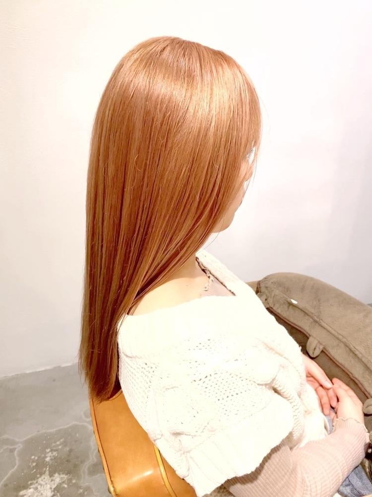 ⦅vicca'ekolu高松⦆⦅ダブルカラー×ペールピンク⦆、明治神宮前駅徒歩5分