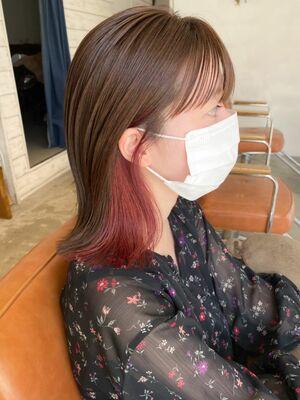⦅vicca'ekolu高松⦆⦅インナーカラー×ピンク⦆、明治神宮前駅徒歩5分